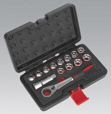 Sealey AK6926 Socket Set 14pc Go-Through Low Profile WallDrive Metric