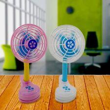 2X USB Powered AAA Battery Powered Portable Air Cooler Mini Fan Smart Swing Fan