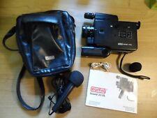 EUMIG Sound 23XL Super 8mm Cine Camera, Case & Instructions