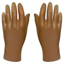 Mn-HandsM Pair Of Fleshtone Left & Right Male Mannequin Hand (Fleshtone Only)