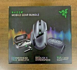 Razer Mobile Gear Bundle, 3 Piece Set  New In The Retail Box Free Shipping