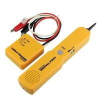 CABLE FINDER TONE GENERATOR PROBE TRACKER WIRE NETWORK TESTER TRACER KIT Q7F9