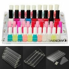 Tiers Acrylic Nail Polish Rack Stand Display Holder Cosmetic Makeup Organizer