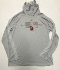 Majestic St. Louis Cardinals Lightweight Pullover Hoodie Size Large New
