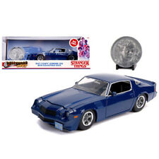Jada 1979 Chevrolet Camaro Z28 Hollywood Stranger Things Billy's Blue 1:24 31110