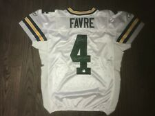 12/23/2007 Brett Favre Game Worn Signed Jersey Green Bay Packers Favre + GWH LOA