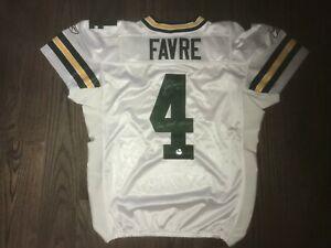 12/23/2007 Brett Favre Game Worn Signed Jersey Green Bay Packers Favre + GWH LOA