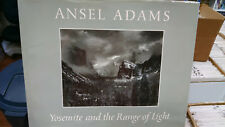 ANSEL ADAMS SIGNED Yosemite and the Range of Light Photo Book 1st/1st 1979 GBX