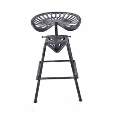 Bar Stool Industrial Swivel Tractor Seat  Vintage Dinner Chair Height Adjustable