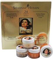 Shahnaz Husain GOLD Facial Kits Radiance Facial kit 40 g free ship