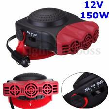 12V 150W Auto Car Ceramic Heater Heating Cool Fan Windscreen Demister DEFROSTER