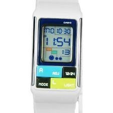 Casio Women's Pop Tone White Digital Watch LDF50-7