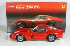 Ferrari 250 GTO rot red rouge Kyosho 1:18 OVP - no CMC