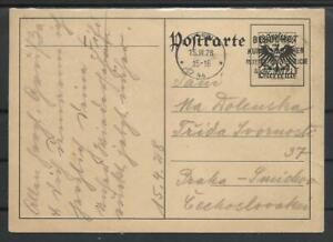 1928 POSTKARTE WIEN NACH PRAG (2733)