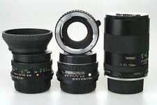 PENTAX K - M : 2 / 50 mm Cimco MC + 2,8 / 35mm Petri MC + 2,5 / 135mm Tamron AA