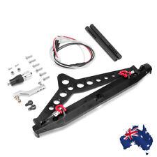Alloy Rear Bumper W/ LED Light for Traxxas Trx-4 1 10 RC Crawlers AU