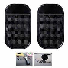 2pcs Car Dashboard Sticky Pad Anti Slip Mat Mobile Phone Grip Gel Keys Sat-Nav