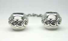 Authentic Pandora #791088-05 Love Connection Safety Chain
