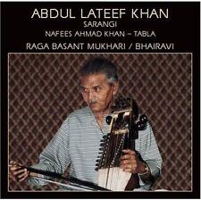 Abdul Lateef Khan - Raga Basant Mukhari [New CD]