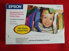 Epson 4x6 Borderless Glossy Photo Paper Partial Pk 85 sheets