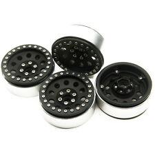 4pcs 2.2'' Aluminum Beadlock Wheel Rims for AXIAL Wraith 1/10 RC Crawler Car