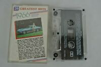 20 Greatest Hits of 1966 by The Original Artists (Cassette, 1987 Highland)