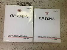 2006 KIA Optima Service Repair Shop Workshop Manual Factory OEM Set 2006