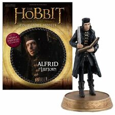 Eaglemoss * Alfrid of Laketown * #10 Figurine & Magazine Hobbit Lotr Lord Rings