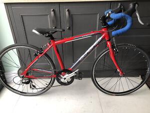 Islabike Luath 24 cyclo-cross/road/triathlon bike with gravel & road tyres