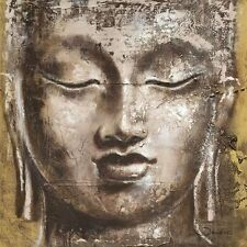Joadoor: Wisdom Keilrahmen-Bild 90x90 Leinwand Buddha Zen Feng-Shui Kult