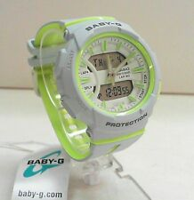 New Casio Ladies Baby-G Dual Time Runner Sport Watch BGA-240L-7A