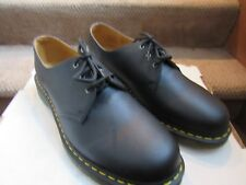 New Dr.Martens Black Leather Shoes Size US 14 Doc UK 13 EU48 NWOB 1461