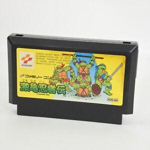 Famicom GEKIKAME NINJA Teenage Mutant Turtles Cartridge Only Nintendo 1665 fc