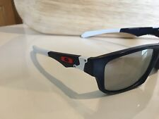 Oakley Jupiter cuadrados gafas de sol ref OO 9135-09 Mate Azul Marino Cromo Iridium