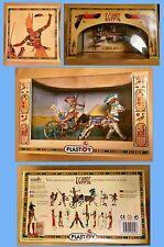 Egyptology Egypt Egyptian Figures Pharaoh Ramses Chariot Horses & Army Warriors