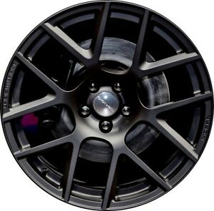 Dodge Challenger Charger WRT Wheel Touch Up Paint  Black Matte code RXF