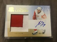 2009-10 UD The Cup Pavel Datsyuk Limited Logos Patch Autograph 48/50