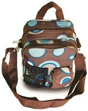 Explorer small Designer image Print designs colors Crossbody Daypack 9.5 inch