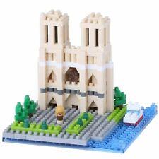 nanoblock - Cathedral Notre Dame Paris - nano blocks micro-size blocks (NBH-093)