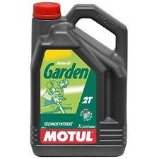 MOTUL Aceite lubricante motor jardineria mezcla GARDEN 2T 5 L