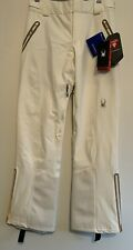 Spyder Snow Pants Revelation Marshmallow White Women's size 6 ski snowboard