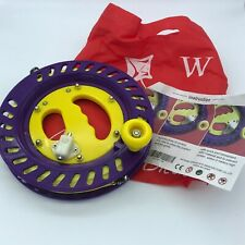 Hengda Kite Ballbearing Reel Line Winder Grip Wheel + 300M Tire Line With Lock