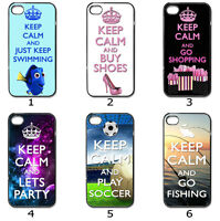 For Designer Phone Hard Case Cover Keep Calm Designer Collection 7b