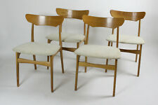 4 Schionning & Elgaard Stühle/chairs Danish Mid Century Modern Design Eiche/Oak