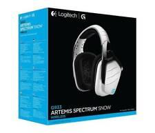 NEW Logitech G933 Artemis Spectrum Wireless RGB 7.1 Gaming Headset White