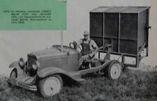 Powered Silage Unloader 1959 How-To build PLANS