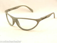 Vintage New Old Stock Bolle Anaconda Sunglasses Matte Silver Frames ONLY/No Lens