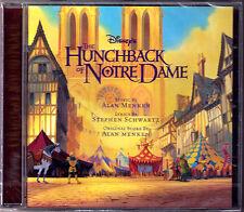 THE HUNCHBACK OF NOTRE DAME Alan Menken Stephen Schwartz OST CD Der Glöckner von