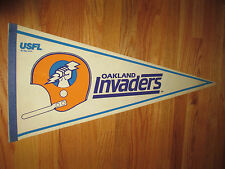 "1982 USFL OAKLAND INVADERS 30"" Pennant"