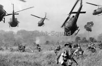 Vietnam Picture Photo US Army helicopters to cover the advance troops 3205